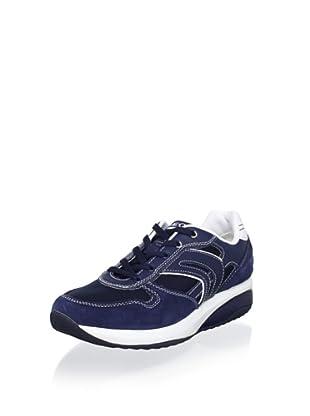 Geox Women's Energy Walk Sneaker (Navy/White)