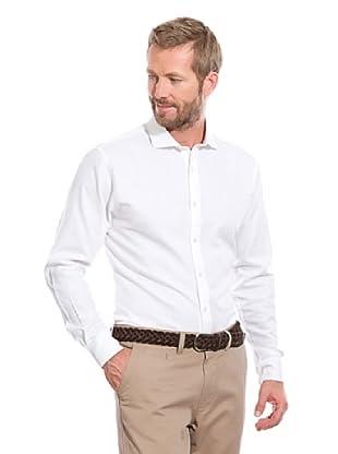 Cortefiel Camisa Cuadrille (Blanco)