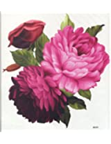 "Ggsell Ggsell Extra Large Size: 7.87 X 8.66"" Inches Waterproof And Fashionable Peony Flowers Temporary Tattoos For Half Back"""