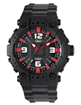 Q Q Black Digital Men Watch 100GW82J002Y