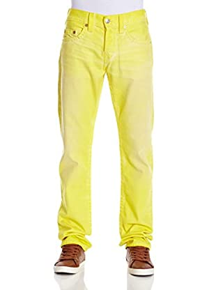 True Religion Pantalón (Amarillo)