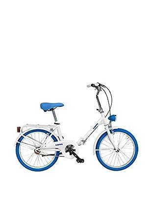 Fausto Coppi Bicicleta Plegable Glamour Blanco / Azul