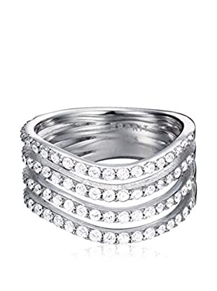 Esprit Steel Ring Gleaming Wave