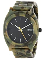New Unisex Nixon Time Teller Acetate Watch Matte Black/Camo