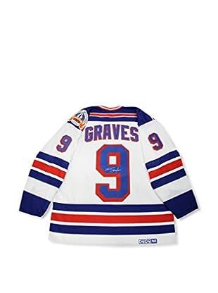 Steiner Sports Memorabilia Adam Graves Signed New York Rangers 1994 Replica White Jersey