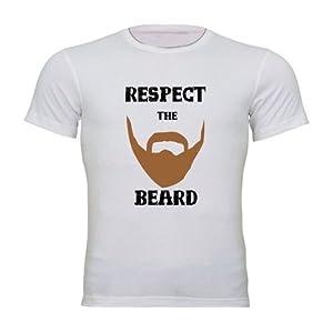 Sportskeeda WWE Respect The Beard White T-shirt