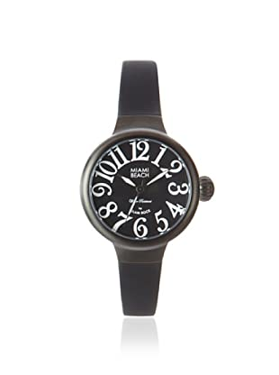 Glam Rock Women's MBD27029 Miami Beach Black Rubber Watch