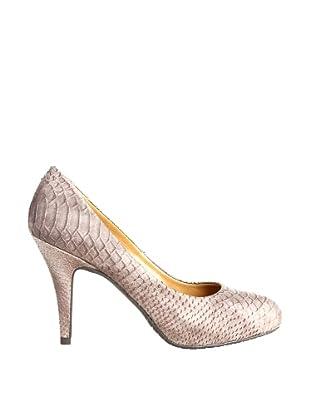 Paco Herrero Zapatos Salón Serpiente (Visón)