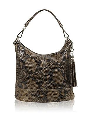 Carla Belotti Bolso asa al hombro Handbag Penelope Taupe