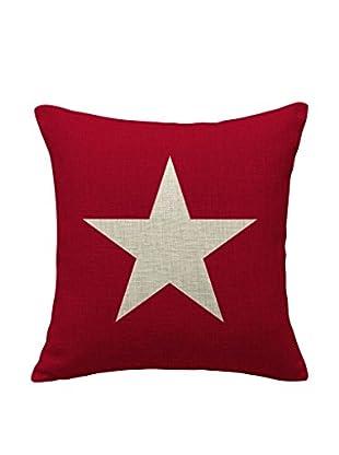 LO+DEMODA Funda De Cojín Star Pink