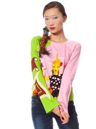 Custo Camiseta Flexy (Multicolor)