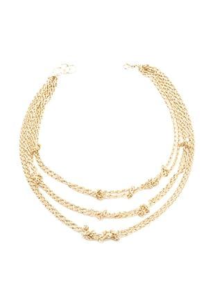 Amrita Singh Collar Aztec Knot Dorado