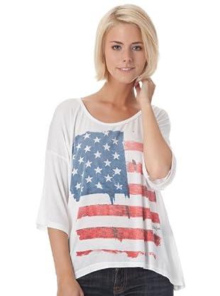 Bleifrei Camiseta Print (blanco)