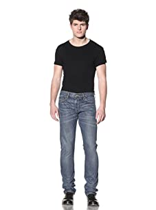 SPURR Men's Slim Faded Jean (Blue)