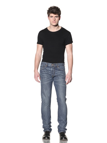 SPURR Men's Slim Faded Jean (Blue)
