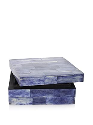 Purva Deep Sea Blue Bone Box