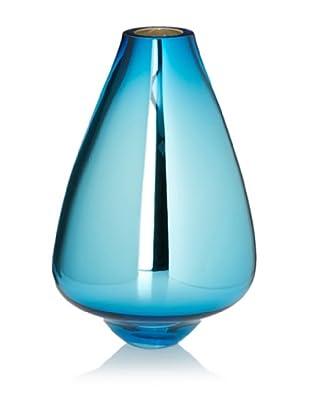 Tsunami Glassworks Toro Hand-Blown Glass Vase