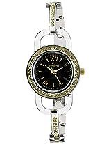 Aveiro Analog Black Dial Women's Watch - AV35TM_BLK