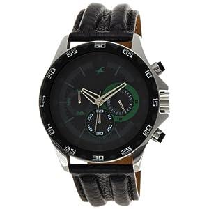 Fastrack Chrono Upgrade Analog Black Dial Men's Watch - ND3072SL05