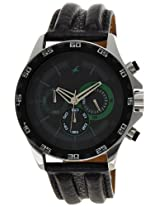 Fastrack Chrono Upgrade Analog Black Dial Men's Watch - ND3072SL05