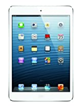 Apple iPad Mini (16GB, WiFi + Cellular), White-Silver