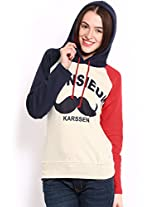 Espresso Women's Sweatshirt (ESP-6024_Grey_X-Large)