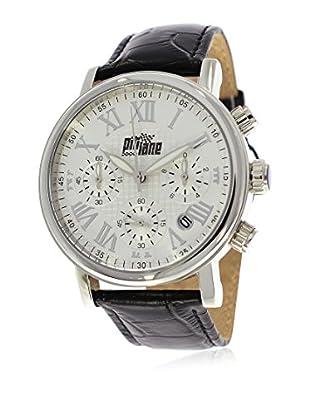 Pit Lane Uhr mit Miyota Uhrwerk Pl-1004-2 schwarz 42 mm