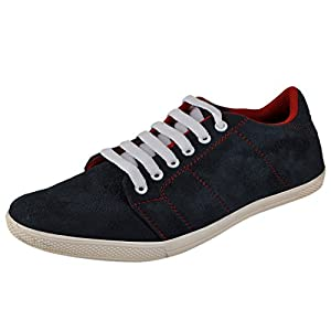 Marco Ferro Men's Navy Synthetic Casual Shoes (1477 Navy ) UK 9