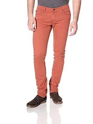 James Jeans Men's Tom Slim Fit Twill Pants (Rhubarb)