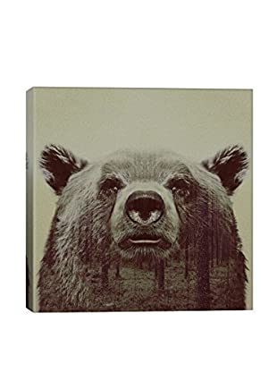 Andreas Lie Bear Canvas Print