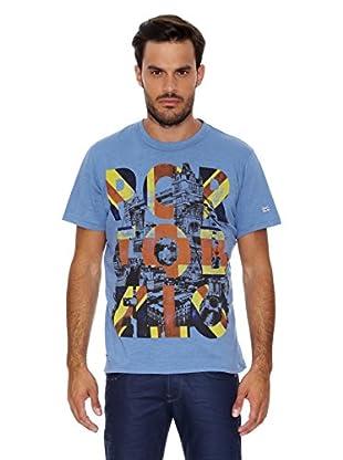 Pepe Jeans London Camiseta Hammers Mark (Azul Claro)