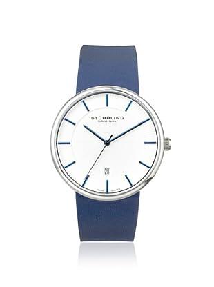 Stuhrling Men's 244.3315C2 Classic Ascot Fairmount Slim Blue Watch