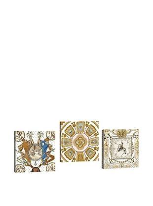 Dekorjinal Set, 3-teilig dekoratives Bild Ahm089 (mehrfarbig)