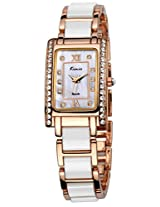 Kimio Analog Silver Dial Women's Watch - KW510S-RGY01
