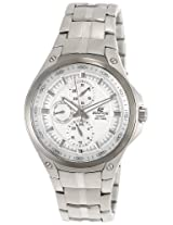 Casio Edifice Analog Silver Dial Men's Watch - EF-326D-7AVDF (ED337)