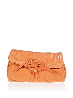 25 Lovers Leder-Umhängetasche (Orange)