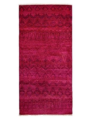 Darya Rugs Moroccan Oriental Rug, Pink, 4' 1