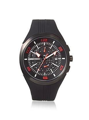 MOMODESIGN Men's MD1003BK-RB-06BKRD Black/Red Stainless Steel Watch