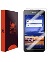 Skinomi TechSkin - Microsoft Lumia 950 Screen Protector Premium HD Clear Film with Free Lifetime Replacement Warranty / Ultra High Definition Invisible and Anti-Bubble Crystal Shield