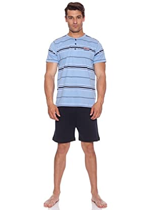 Basket Pijama Camiseta+Pantalón Absolute (Azul)