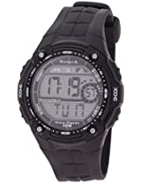 Sonata Super Fibre Digital Grey Dial Men's Watch - NF7949PP04J