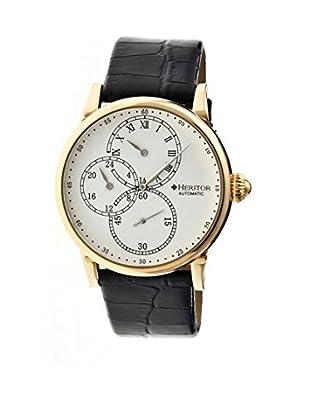 Heritor Automatic Uhr Thomson Herhr1105 schwarz 46  mm