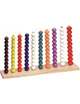 Kinder Creative Count Me With Beads 1-100
