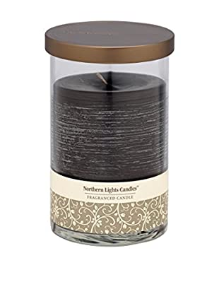 Northern Lights 20-Oz. Glass Pillar Candle, Black Currant & Clove