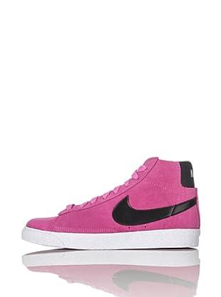 Nike Zapatillas Blazer Mid (Ps) (Rosa/Negro)