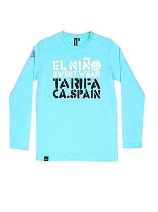 El Niño Camiseta Manga Larga Tarifa (turquesa)