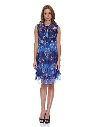 Peace & Love Vestido Floral (Azul)
