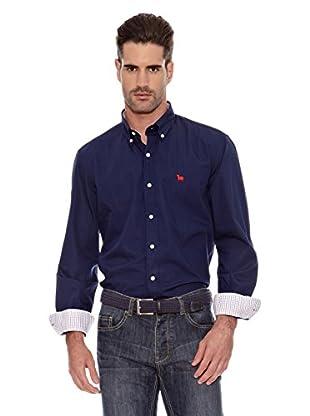 Toro Camisa Lisa Casual (Marino)