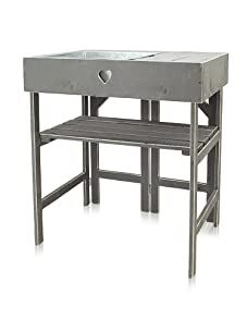 Esschert Design Potting Table (Warm Grey)