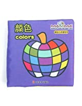 Baby Kid Child Intelligence Development Learn Cognize Cloth Book Educational Toy (Colors)